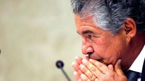 """O dia em que o jornalista enquadrou Marco Aurélio: """"Eu não acredito no STF"""" (veja o vídeo)"""
