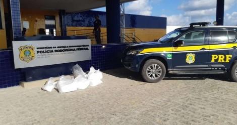 PRF apreende 115 kg de cocaína em Alagoas e 1,2 tonelada de maconha em MG (veja o vídeo)