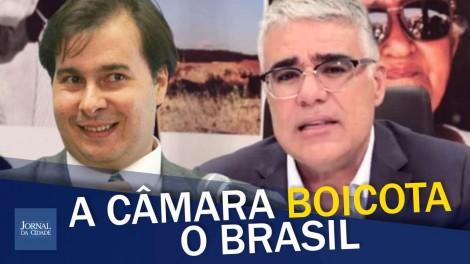 """Senador Girão denuncia: """"A Câmara dos Deputados joga contra o Brasil"""" (veja o vídeo)"""