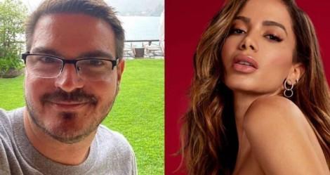 """Anitta tenta 'lacrar' em cima de Constantino e toma resposta avassaladora: """"Não te respeito nem como mulher"""""""