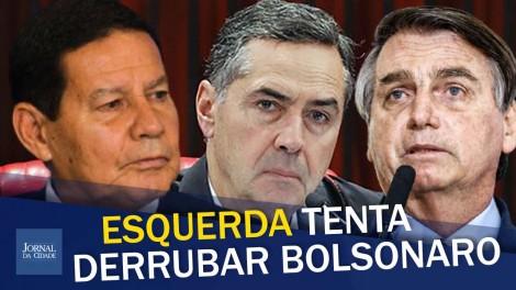 Novamente partidos de esquerda tentam cassar a chapa Bolsonaro/Mourão (veja o vídeo)