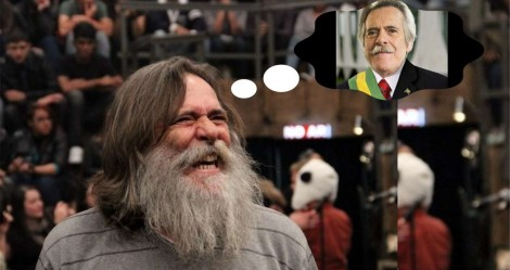 Aparentemente com sérios 'problemas mentais', Zé de Abreu quer concorrer em 2022