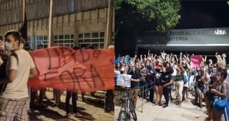 Reitor escolhido por Bolsonaro toma posse com agressões e é escoltado pela polícia (veja o vídeo)