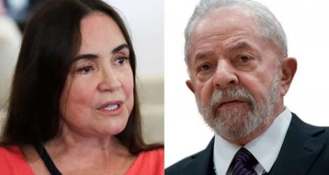 Família de Lula processa Regina Duarte e quer R$130 mil por danos morais