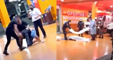 Carrefour em nova polêmica: Homem morre após ser espancado por seguranças (veja o vídeo)