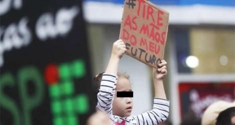 A abominável atuação da esquerda contra crianças inocentes