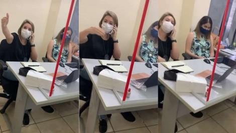 Perita expulsa advogado de sala do Fórum e será processada (veja o vídeo)