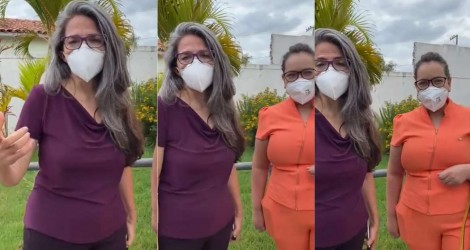 Dra. Raíssa Soares gripa em Porto Feliz e esquerda inventa que ela está entubada (veja o vídeo)