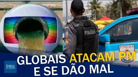 Caso da porta-voz da PM do RJ tem 'reviravolta' e globais se dão mal (veja o vídeo)