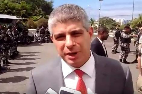Secretário de Segurança de Rui Costa (PT) é alvo da Operação Faroeste