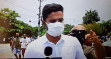 Ao vivo, homem interrompe transmissão da Globo e esbraveja contra emissora (veja o vídeo)