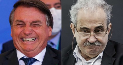 """Bolsonaro satiriza redução salarial de Ancelmo Gois: """"Vai escrever menos mentiras. Parabéns Globo"""" (veja o vídeo)"""