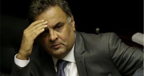 MP denuncia Aécio por peculato, corrupção e lavagem de dinheiro