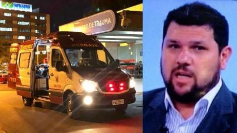 Jornalista Oswaldo Eustáquio é hospitalizado e algo muito grave pode ter acontecido
