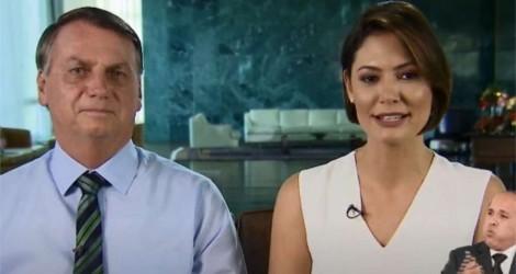 O exemplo de Bolsonaro: Quando um presidente fez pronunciamento ao lado da primeira-dama?