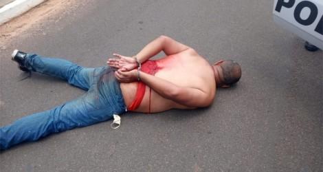 Beneficiado pela 'saidinha', condenado por estupro ataca mulher, toma facada e é preso em SP