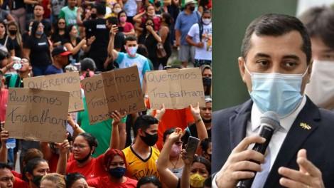 """Manauaras precisam permanecer na rua para derrubar o """"impostor"""""""