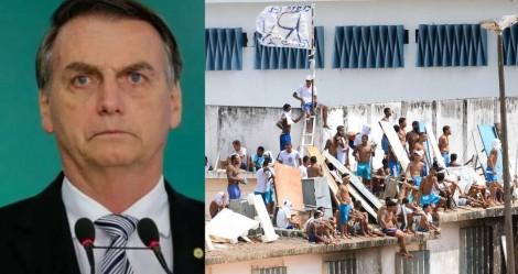 Bolsonaro deve apresentar projeto para privatizar presídios e colocar presos para trabalhar