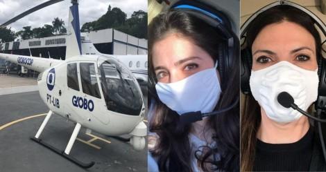"""Crise na Globo atinge até o """"globocop"""" e deixa repórteres apavorados com dificuldades de levantar voo"""