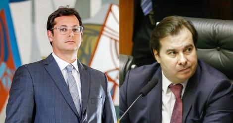 """Maia """"mente"""" sobre a saída da Ford do Brasil e é desmascarado por chefe da Secom"""