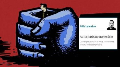 """O """"autoritarismo necessário"""" proposto pelo porta-voz da mediocridade, absolutamente desnecessária"""