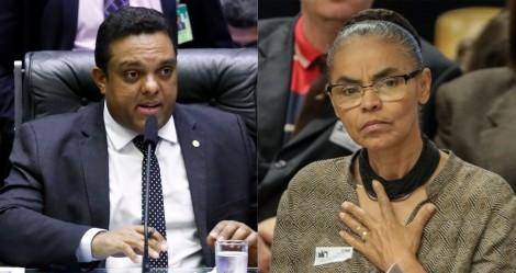 """Marina tenta 'lacrar' em cima de Bolsonaro e é 'silenciada' por deputado: """"Sua fama de tartaruga se explica (...)"""""""
