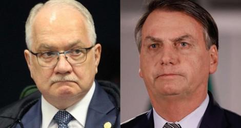 """Fachin derruba medida que zerou alíquota sobre armas e Bolsonaro perde a paciência: """"Sentença esfarrapada"""" (veja o vídeo)"""