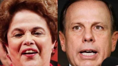 """Doria leva """"descompostura"""" até de Dilma"""