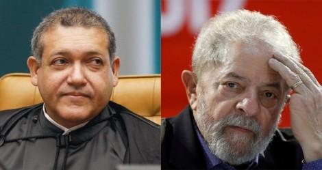 """Futuro de Lula no STF está """"nas mãos"""" de Nunes Marques"""