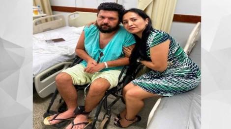 """A deprimente e inadmissível situação como Eustáquio foi devolvido para a sua família: na cadeira de rodas e """"mudo"""""""