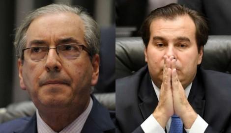 Eduardo Cunha revela segredos e apavora Rodrigo Maia