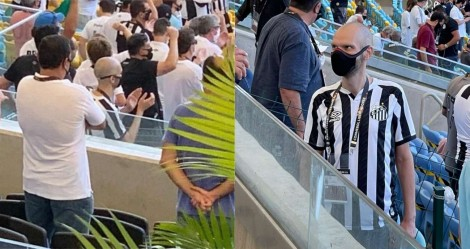 """Depois de """"fechamento"""" em SP, Covas vai ao Rio torcer pelo Santos"""