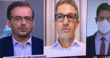 """Indagado sobre """"Bolsonaro"""", Zema cala jornalista da Globo com resposta simples, mas brilhante (veja o vídeo)"""