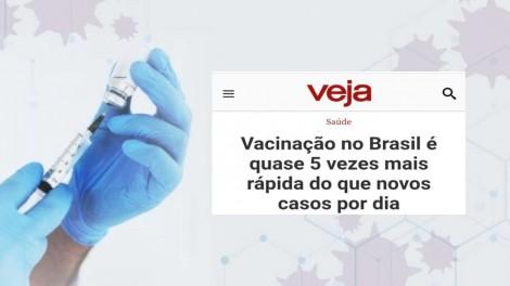 A eficiência na distribuição da vacina destrói mais uma narrativa da esquerda