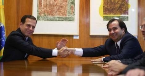 Por um nefasto projeto de poder, Doria e Maia sabotaram durante dois anos o Governo Bolsonaro (veja o vídeo)