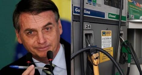 Bolsonaro decreta e postos serão obrigados a informar composição do preço de combustível