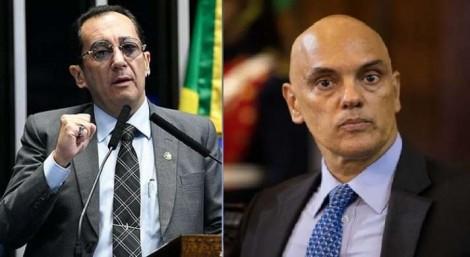 """""""O ministro Alexandre de Moraes não deveria nem fazer parte do STF"""", dispara Kajuru"""