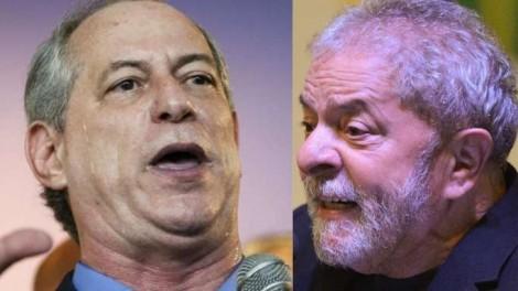 """Ciro 'alucinado' expõe o racha na esquerda: """"(...) Lula, com a sua loucura e caudilhismo, está passando de qualquer limite"""""""