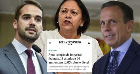 Bolsonaro isenta impostos e governadores aumentam ICMS... Quem são os verdadeiros vilões?
