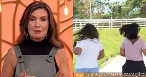 Equipe da Globo é surpreendida com tiroteio durante gravação de reportagem (veja o vídeo)
