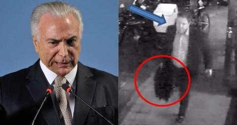 Justiça absolve Temer e Rocha Loures, o ex-deputado que correu com a maleta, e mais quatro