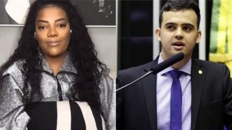 STF rejeita queixa-crime de cantora Ludmilla contra deputado Junio Amaral