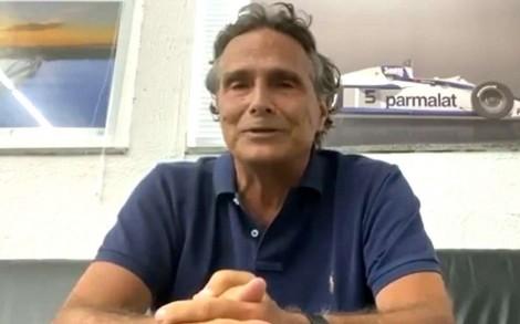"""Em transmissão de Fórmula 1 da Band, Nelson Piquet não perdoa a emissora da família Marinho: """"Globo Lixo"""" (veja o vídeo)"""