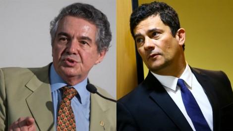 """Marco Aurélio não aceita que Moro """"de repente se torne vilão"""" e diz que ficou """"atônito"""" com voto de Cármen Lúcia"""