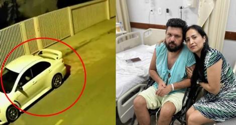 Censurado e paraplégico, Eustáquio continua sendo intimidado: Mitsubishi branco faz 'plantão' em frente a casa do jornalista (veja o vídeo)