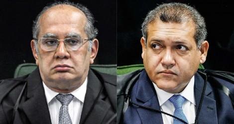 """Gilmar mantém proibição de Doria e abre """"pé de guerra"""" com Kassio Nunes (veja o vídeo)"""