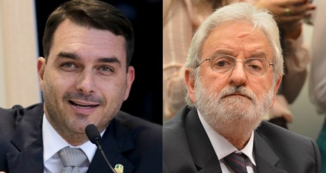 """Flávio Bolsonaro sobre Ivan Valente, do PSOL: """"Vai ter que sentar o seu bumbumzinho enrugado à frente do delegado"""""""