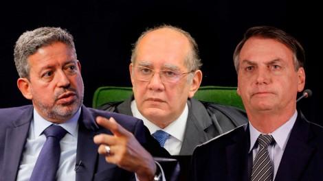 """AO VIVO: Bolsonaro: """"Não vai ter lockdown nacional"""" / Gilmar quer igrejas fechadas / A estranha lei de Lira (veja o vídeo)"""