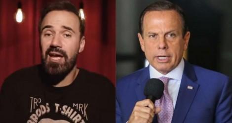 Elenco do Pânico detona censura de Doria a humorista Diogo Portugal (veja o vídeo)