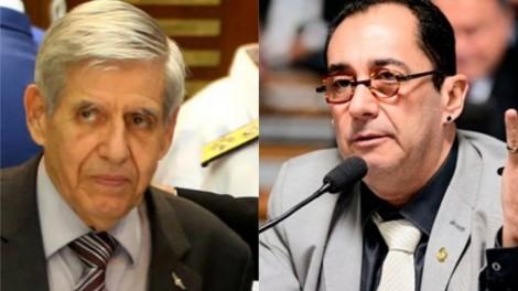 """General Heleno e Kajuru desmentem """"mentira"""" criada pelos """"Antas"""" (veja o vídeo)"""